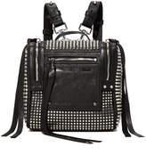 McQ Alexander McQueen Stud Mini Convertible Box Backpack