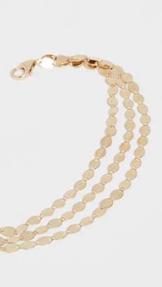 Lana 14k Multi Strand Nude Chain Bracelet