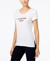 MICHAEL Michael Kors 'Luxe For Life' Graphic T-Shirt, A Macy's Exclusive Style