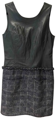 Theyskens' Theory Black Leather Dress for Women