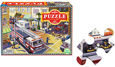 Eeboo Fire Engine Jigsaw Puzzle