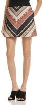 Karen Millen Chevron Tweed Skirt
