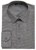 Murano Slim Wardrobe Essentials Horizontal Stripe Sportshirt