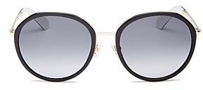 Kate Spade Women's Alaina Round Sunglasses, 56mm