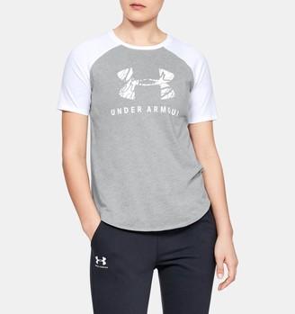Under Armour Women's UA Fit Kit Baseball T-Shirt