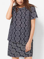 Michael Kors Eyelet-Embroidered Top