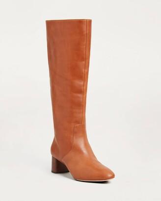 Loeffler Randall Gia Tall Boot Cognac
