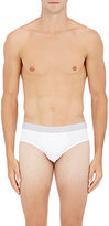 Hanro Men's Two-Pack Jersey Briefs-WHITE
