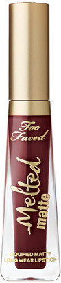 Too Faced Melted Matte Lip Stain 7ml (Various Shades) - Drop Dead Red