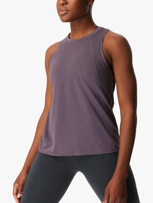 Sweaty Betty Pacesetter Running Vest, Fig Purple
