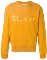 Études - logo sweatshirt - men - Cotton/Polyester - M