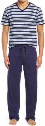 Majestic International Men's Pure Lines Knit Cotton Pajamas