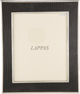 "Barneys New York Lizard-Embossed 8"" x 10"" Picture Frame-BLACK"