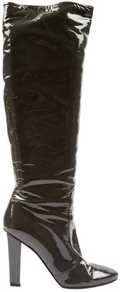 Jimmy Choo Grey Patent leather Boots