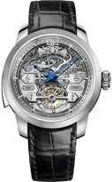 Girard Perregaux Girard-Perregaux 1966 Minute Repeater alligator-leather and stainless steel watch
