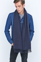 Urban Outfitters Oversize Slate Blue Scarf