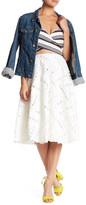 Line & Dot Jardin Lace Full Skirt