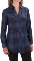 Foxcroft Tartan Tunic Shirt - TENCEL®, Long Sleeve (For Women)