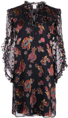 Alice + Olivia Julius paisley print dress