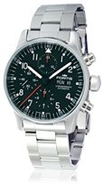 Fortis Men's 597.22.11 M Pilot Professional Analog Display Automatic Self Wind Silver Watch