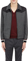 Lanvin MEN'S STRIPED JACQUARD JACKET
