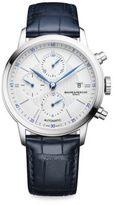 Baume & Mercier Classima 10330 Stainless Steel & Alligator Strap Watch
