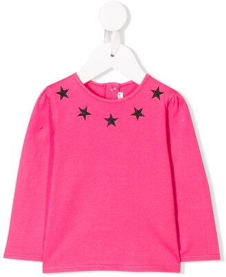 Givenchy Kids star-print sweater