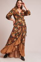 Anthropologie Madrid Wrap Maxi Dress