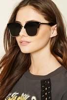 Forever 21 FOREVER 21+ High-Polish Cateye Sunglasses