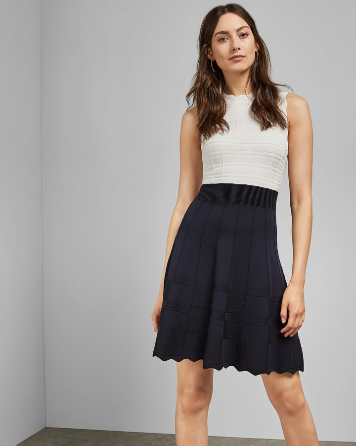 Ted Baker Sleeveless Knitted Dress