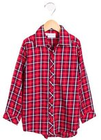 Rachel Riley Boys' Plaid Button-Up Shirt