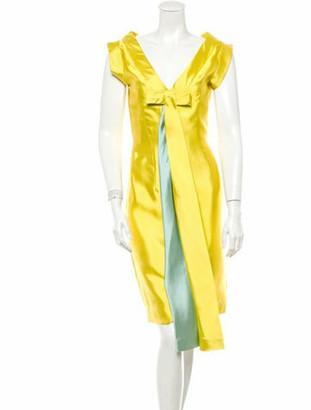Barbara Tfank Dress Yellow