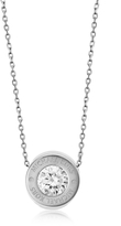 Michael Kors Brilliance Stainless Steel and Crystal Necklace