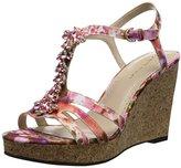 Adrienne Vittadini Footwear Women's Canis Wedge Sandal