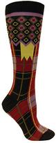 Ozone Women's Laith Plaid Knee High Sock (2 Pairs)
