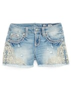 Miss Me Girl's Embellished Cutoff Shorts
