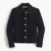 J.Crew Lady jacket with ruffles