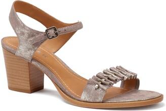 Trask Carrie Metallic Quarter Strap Sandal