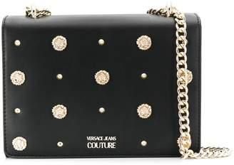 Versace logo embellished bag