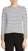 Maje Martina Striped Sweater