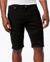 "Reason Men's 11"" Ripped Moto Shorts"
