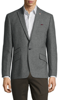 Ben Sherman Wool Tweed Peak Lapel Sportcoat