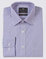 Marks and Spencer 2in Longer Easy to Iron Regular Fit Shirt