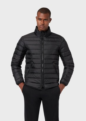 Emporio Armani Padded Down Jacket With Full-Length Zip