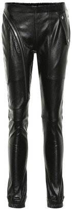 Rick Owens Mid-rise skinny leather pants