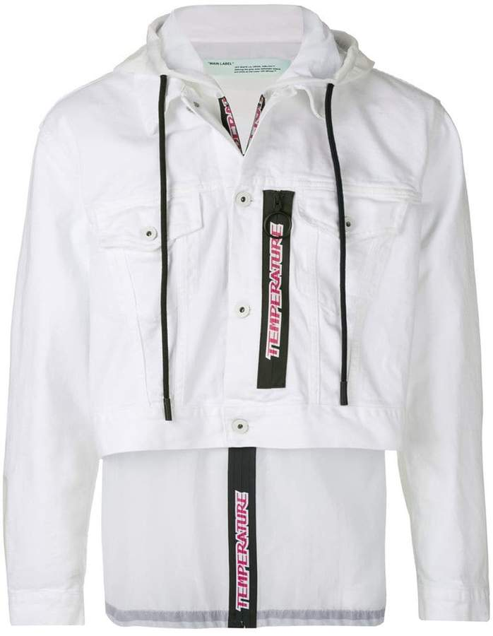 Off-White レイヤード ジャケット