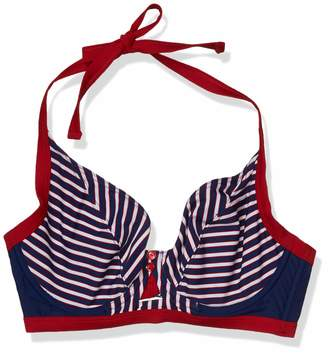 Curvy Kate Junior's Ahoy Halterneck Bikini