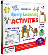 NEW Spicebox Write & Wipe Early Learning Activities