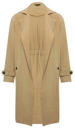 M&Co Drape trench coat