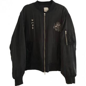 MHI Black Silk Jackets